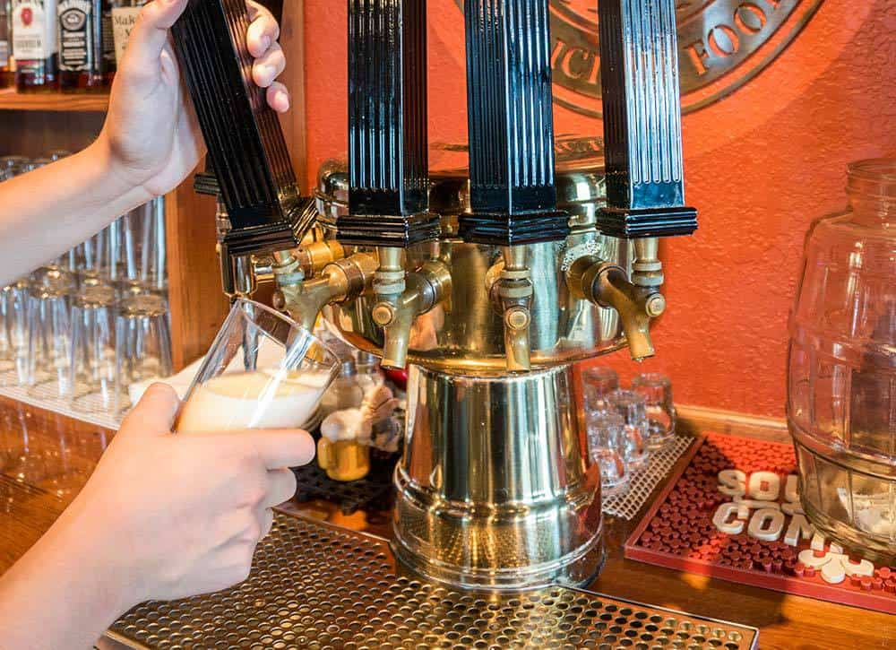 Craft Brews on tap Reads Landing Brewing Co