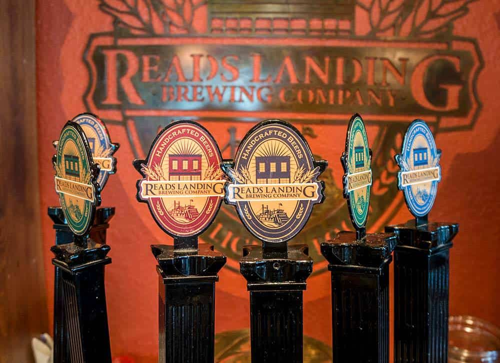 Craft Brews at Reads Landing Brewing Co