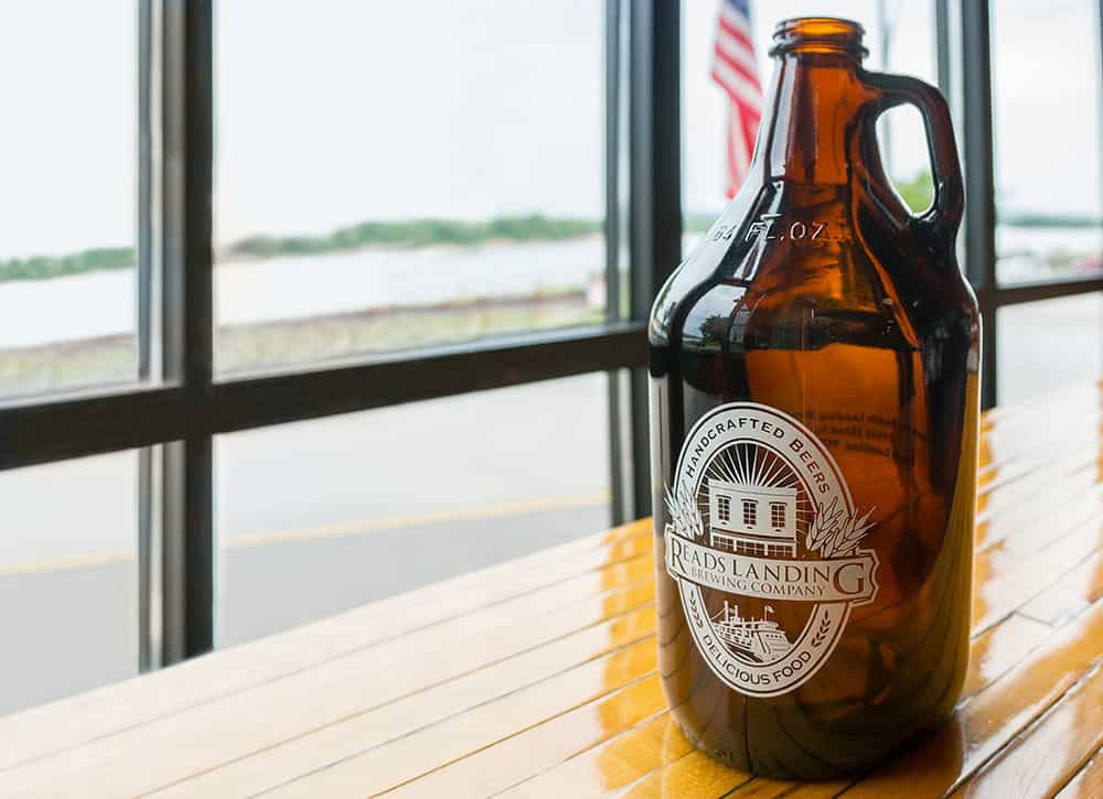 Reads Landing Co Growler