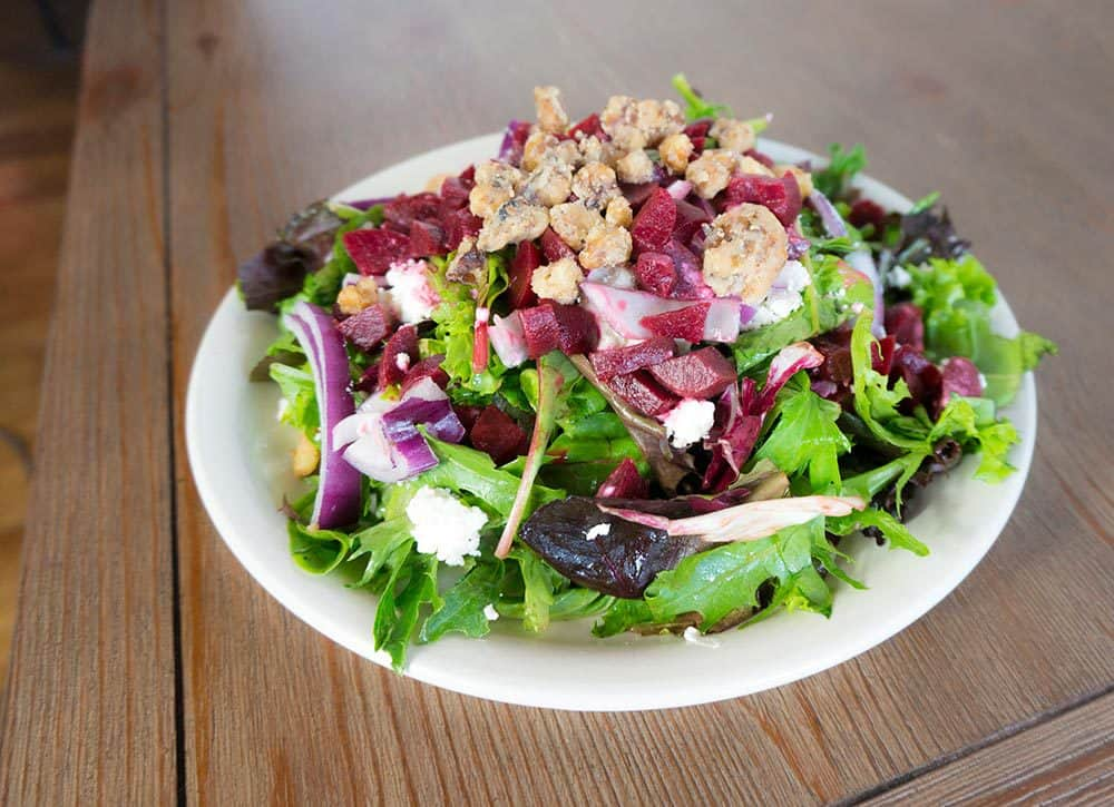 Fresh Salads at Reads Landing Brewing Co